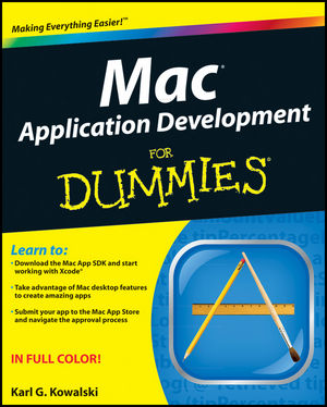 Mac Application Development For Dummies (1118159993) cover image