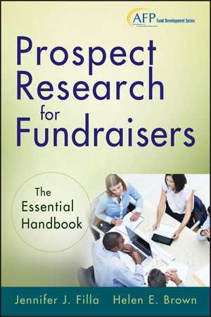 Prospect Research for Fundraisers: The Essential Handbook (1118297393) cover image
