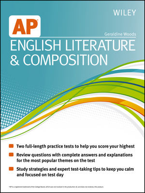 Wiley AP English Literature and Composition (1118490193) cover image