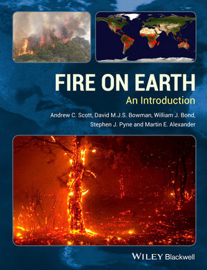 Fire on Earth: An Introduction (1118534093) cover image