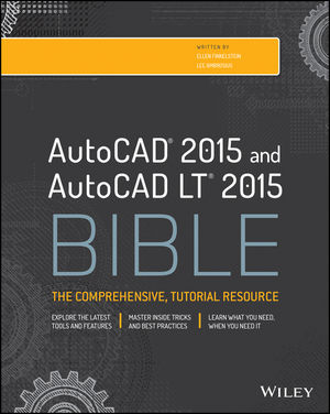 AutoCAD 2015 and AutoCAD LT 2015 Bible (1118915593) cover image