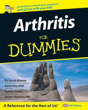 Arthritis For Dummies (1119998093) cover image