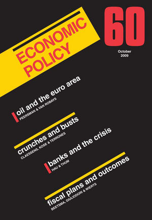 Economic Policy 60 (1405189193) cover image