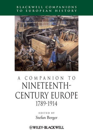 A Companion to Nineteenth-Century Europe 1789 - 1914 (1405192593) cover image