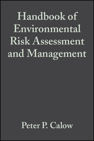 Handbook of Environmental Risk Assessment and Management (1444313193) cover image