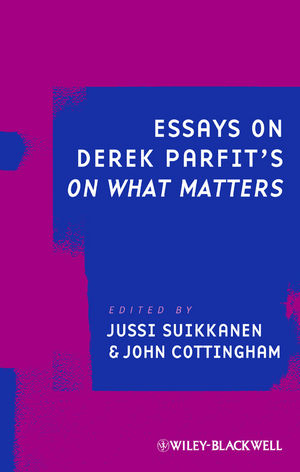 Essays on Derek Parfit