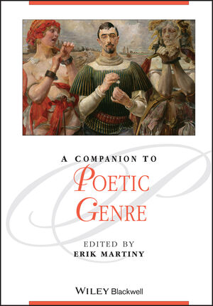 A Companion to Poetic Genre (1444344293) cover image