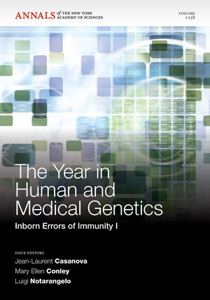 The Year in Human and Medical Genetics: Inborn Errors of Immunity I, Volume 1238