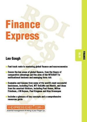 Finance Express: Finance 05.01 (1841123293) cover image