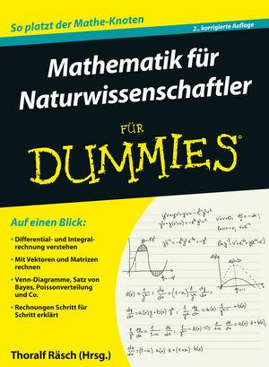 Mathematik für Naturwissenschaftler für Dummies, 2. Auflage