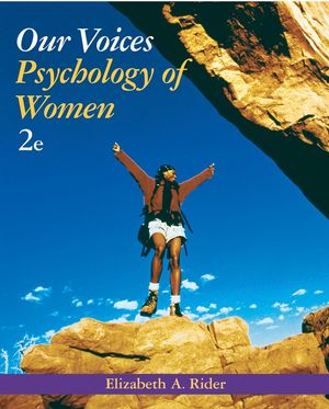 Our Voices: Psychology of Women, 2nd Edition (EHEP000493) cover image