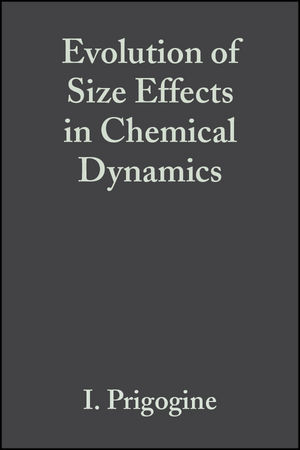 Evolution of Size Effects in Chemical Dynamics, Part 1, Volume 70