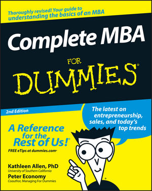 Complete MBA For Dummies, 2nd Edition