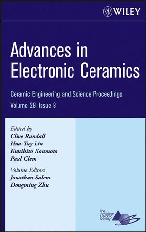 Advances in Electronic Ceramics, Volume 28, Issue 8