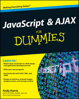 JavaScript and AJAX For Dummies (0470417994) cover image