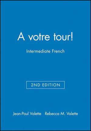 A votre tour!: Intermediate French, SAM Audio CDs (12 CDs, 1 per Unit), 2nd Edition