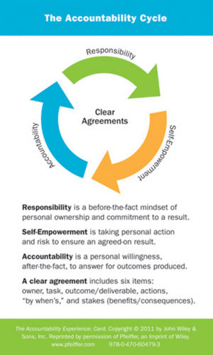 The Accountability Experience Card (0470604794) cover image