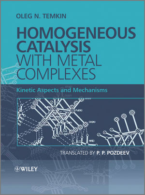 Homogeneous Catalysis with Metal Complexes: Kinetic Aspects and Mechanisms (0470666994) cover image