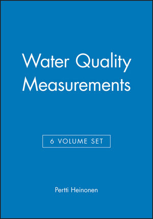 Water Quality Measurements, 6 Volume Set
