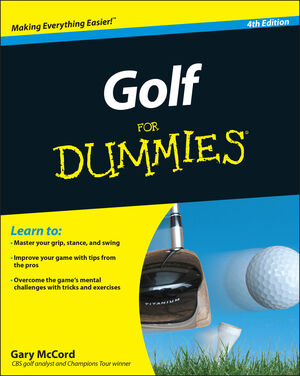 Golf For Dummies, 4th Edition (0470882794) cover image