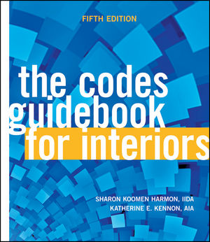 The Codes Guidebook for Interiors, 5th Edition (0470950994) cover image