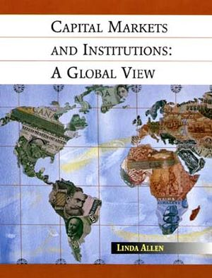 Capital Markets and Institutions: A Global View (0471130494) cover image