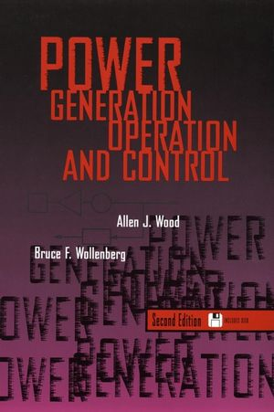 Power Generation, Operation, and Control, 2nd Edition (0471586994) cover image