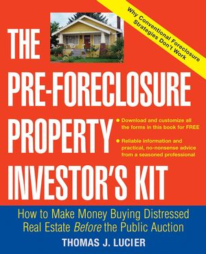 The Pre-Foreclosure Property Investor