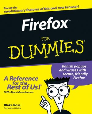 Firefox For Dummies (0471748994) cover image