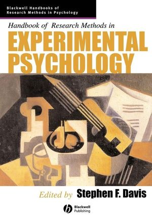 Handbook of Research Methods in Experimental Psychology (0631226494) cover image