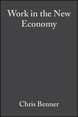 Work in the New Economy: Flexible Labor Markets in Silicon Valley (0631232494) cover image