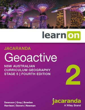 Jacaranda Geoactive Stage 5 NSW Australian curriculum learnON (Online Purchase)