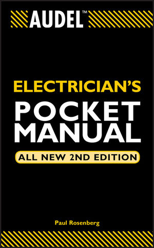 Audel Electrician's Pocket Manual, All New 2nd Edition