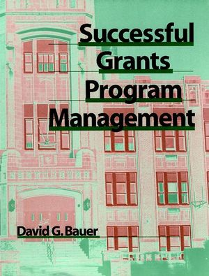 Successful Grants Program Management (0787950394) cover image