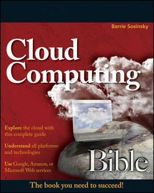 Cloud Computing Bible (1118023994) cover image