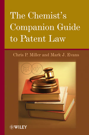 The Chemist's Companion Guide to Patent Law (1118035194) cover image