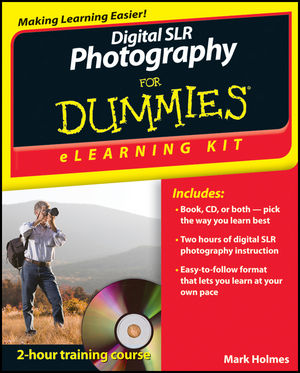 Book Cover Image for Digital SLR Photography eLearning Kit For Dummies