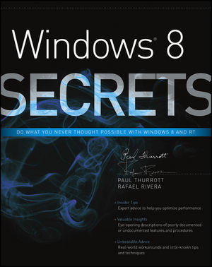 Windows 8 Secrets (1118228294) cover image