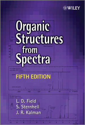 Organic Structures from Spectra, 5th Edition (1118325494) cover image