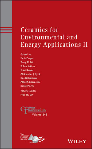 Ceramics for Environmental and Energy Applications II (1118771494) cover image