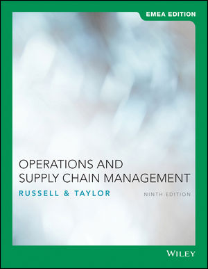 Operations and Supply Chain Management, 9th EMEA Edition
