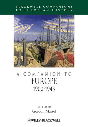 A Companion to Europe 1900-1945 (1405150394) cover image
