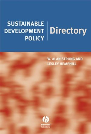 Sustainable Development Policy Directory (1405173394) cover image