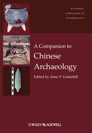 A Companion to Chinese Archaeology (1444335294) cover image