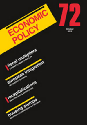 Economic Policy 72 (1444350994) cover image