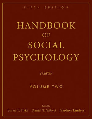 Handbook of Social Psychology, Volume 2, 5th Edition