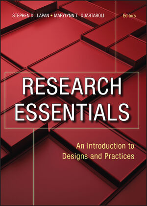 Research Essentials: An Introduction to Designs and Practices (0470181095) cover image