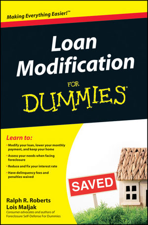 Loan Modification For Dummies (0470501995) cover image