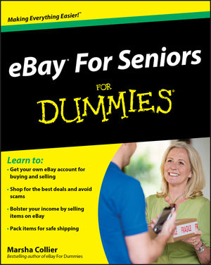 eBay For Seniors For Dummies (0470527595) cover image