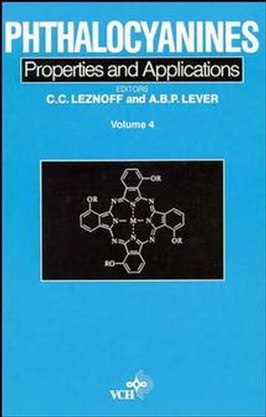 Phthalocyanines, Properties and Applications, Volume 4